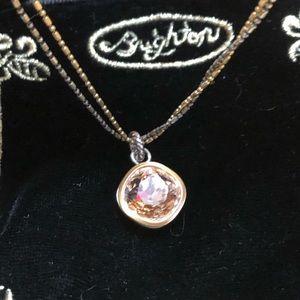 Brighton Pink Stone necklace